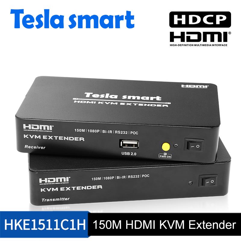 150M HDMI KVM Extender w/IR and audio out