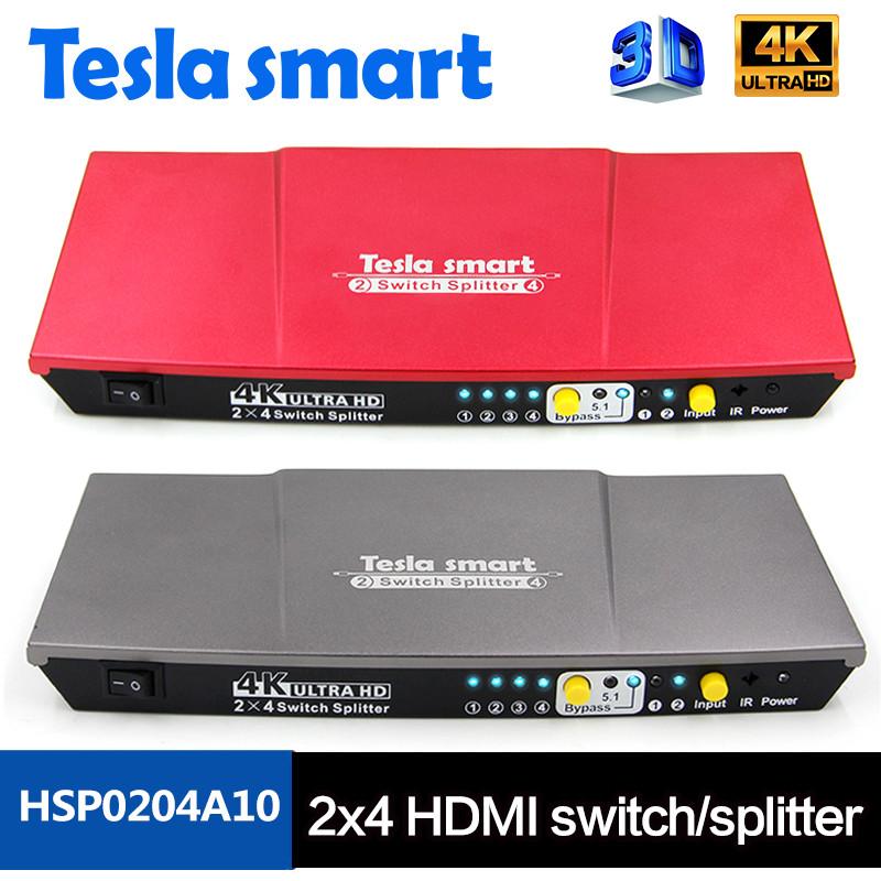 2x4 HDMI switch/splitter