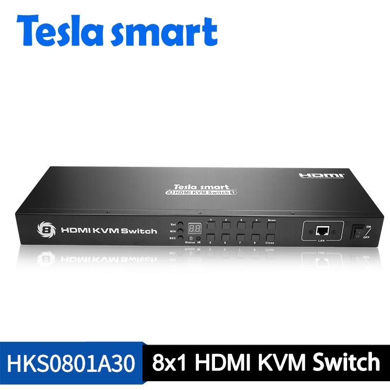 8x1 HDMI KVM Switch