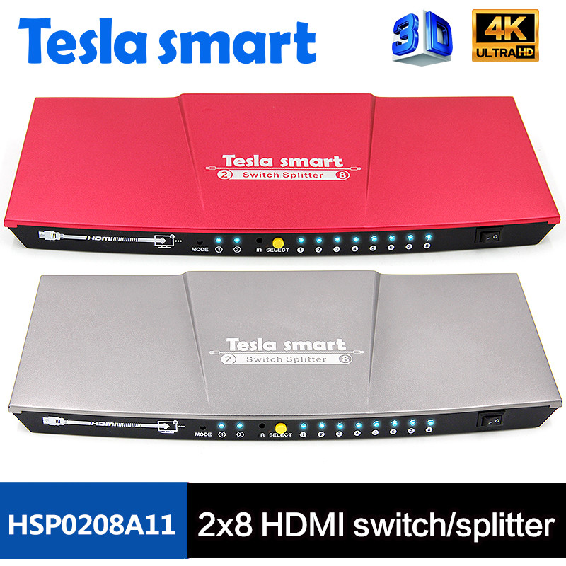 2x8 HDMI switch/splitter