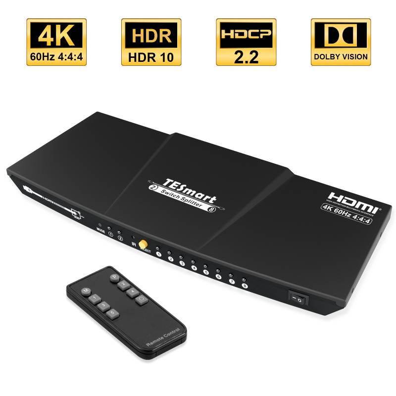 2x8 HDMI  Switch Splitter