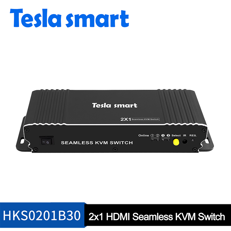 2-Port Seamless HDMI KVM Switch w/PIP