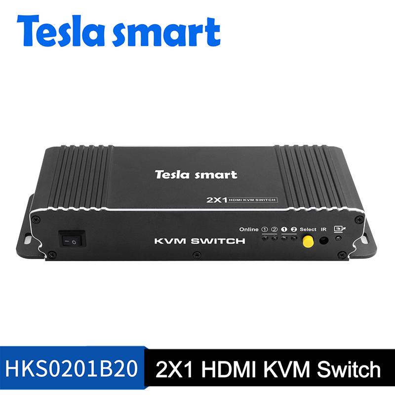 2X1 HDMI KVM Switch