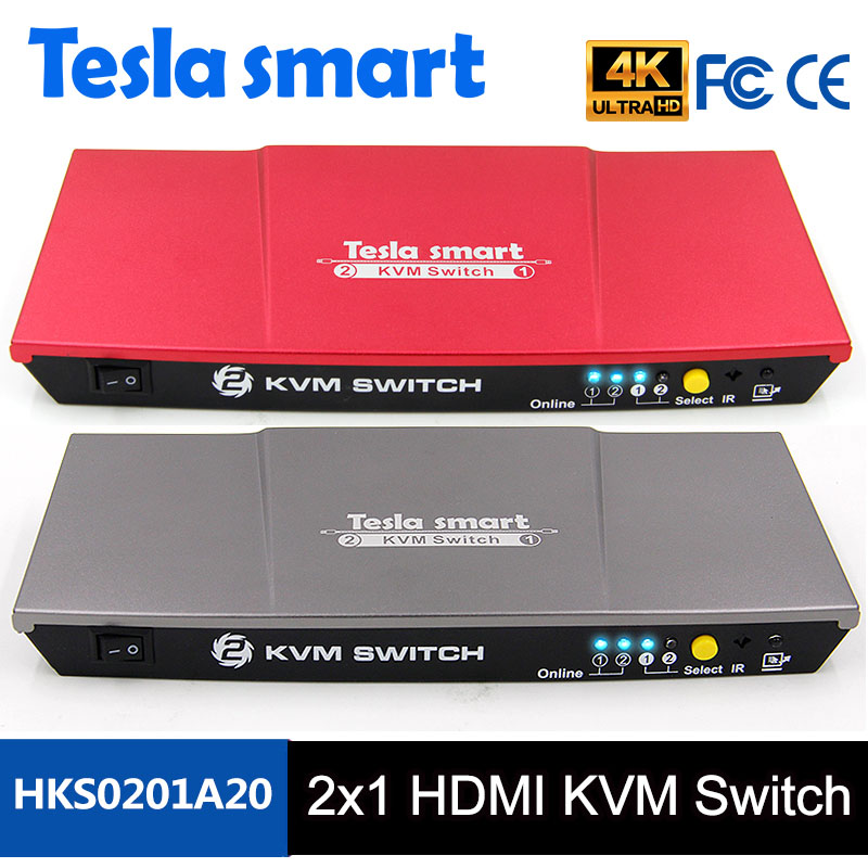 2 Ports HDMI KVM Switch