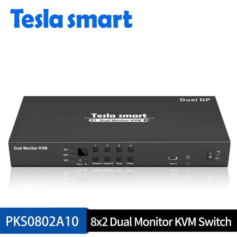 DP Dual Monitor KVM Switch